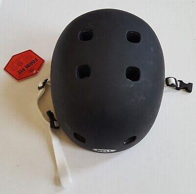 Bell Youth Small Segment Jr Skateboarding Helmet Matte Black NWT