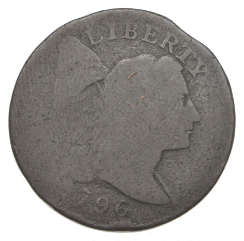 1796 Flowing Hair Large Cent *9169