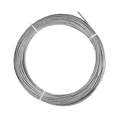 116 Stainless Steel Wire Rope Cable - 100 Ft Coil