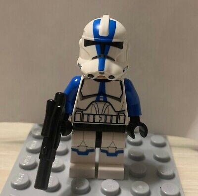 Authentic LEGO Star Wars 501st Clone Trooper Minifigure - 75002 AT-RT 75004 Z-95