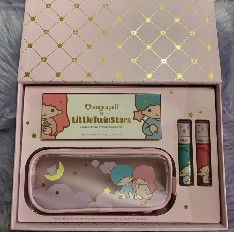 Sugarpill X Little Twin Stars Limited Edition Pro Makeup Collection 4 Piece Set