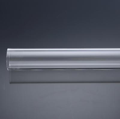 Us Stock 4pcs 12mm Od 8mm Id 250mm Long Clear Acrylic Plastic Lucite Tube Pipe