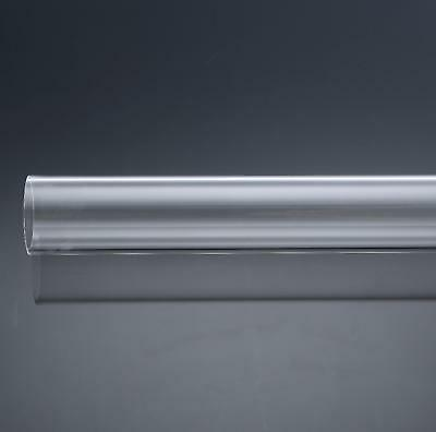 Clear Plastic Acrylic Perspex Tube 5mm to 28mm Diameter hollow Pipe PMMA Section