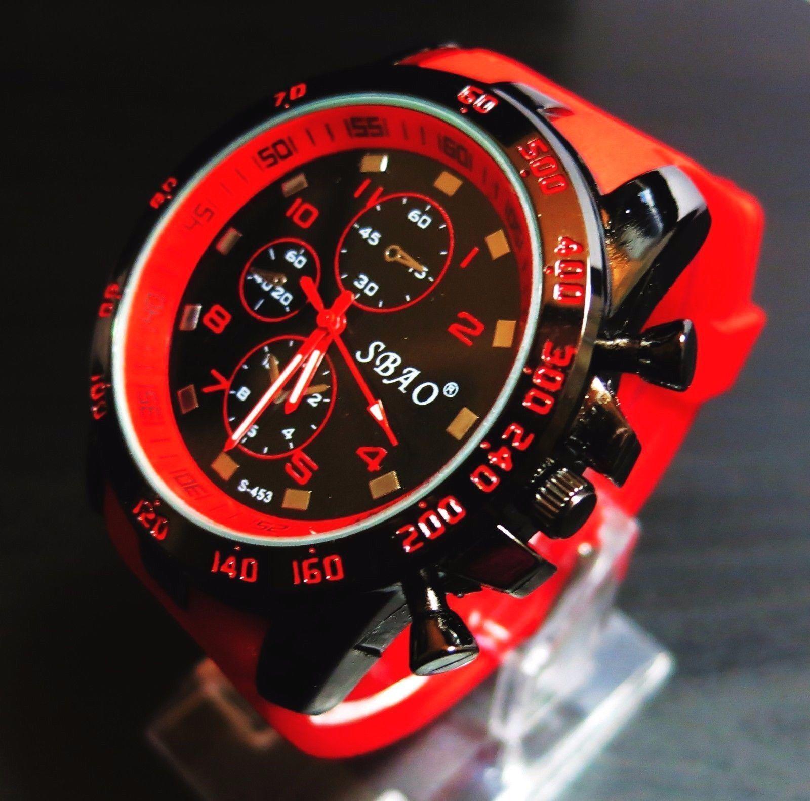 $0.99 - Hot Fashion Luxury Modern Mens Sport Watch Stainless Steel Quartz Wrist Watch