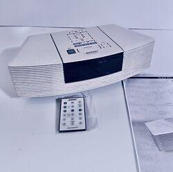 Bose Wave Radio CD Player Alarm Clock Model AWRC-1P WITH REMOTE