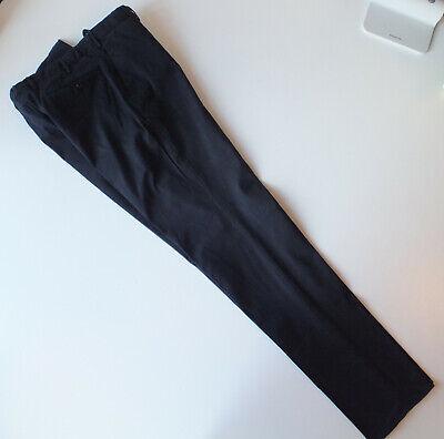 Incotex Pants - Men's 54 Slim Fit Dark Navy blue Cotton chinos trousers slowear