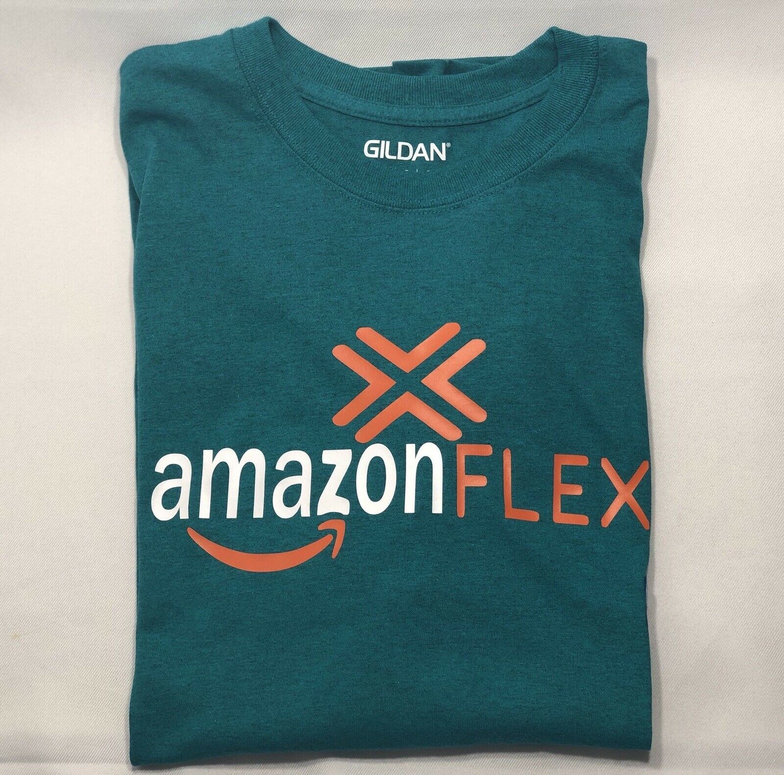 Gildan Adult T-Shirt Preshrunk Cotton Blend Decorated with A