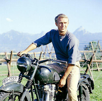 STEVE MCQUEEN THE GREAT ESCAPE 8X10 GLOSSY PHOTO PICTURE