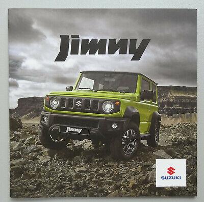 V21083 SUZUKI JIMNY - CATALOGUE - 2018-19 - 20x20 - B NL
