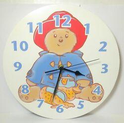 PADDINGTON BEAR TREND LAB WALL CLOCK BATTERY OPERATED