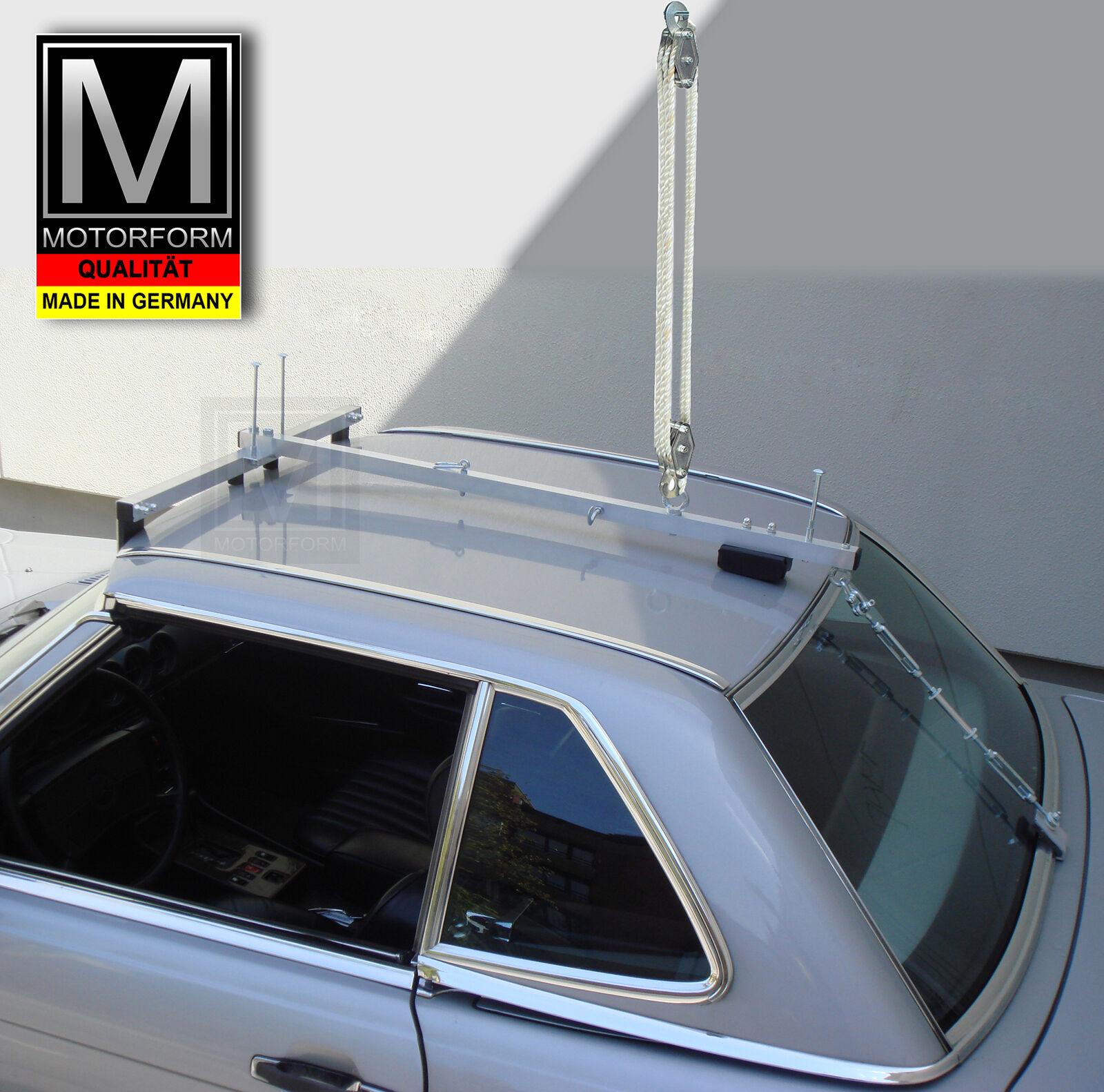 Hardtop-Rollwagen Mercedes SL W129 R129 Hardtopwagen Made in Germany Alu