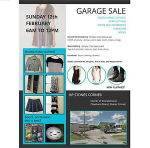 GARAGE SALE THIS SUNDAY BRISBANE Greenslopes Brisbane South West Preview