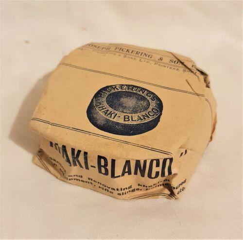 Original WW1 British Army 1908 Pattern Webbing Pickering Khaki Blanco RARE