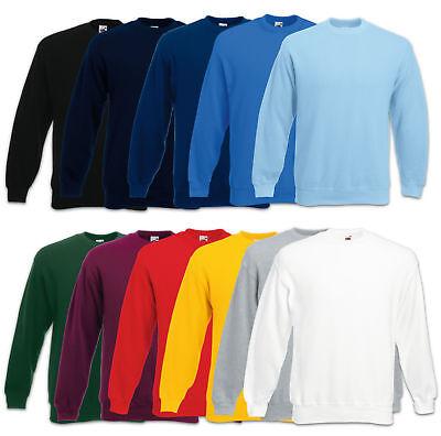 Fruit of the Loom Sweatshirt Set-In Herren Pullover Pulli Gr. S M L XL 2XL 3XL 2xl Sweatshirt