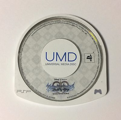 USED PSP Disc Only Kingdom Hearts Birth by Sleep JAPAN Sony PlayStation Portable