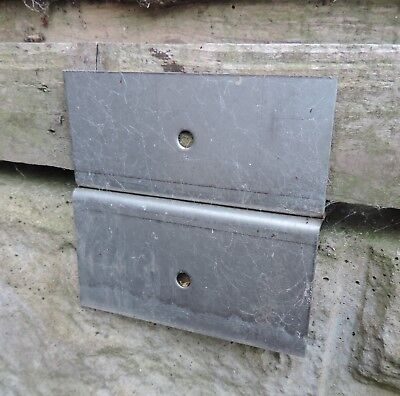 .FENCE PANEL BRACKETS.STAINLESS STEEL.X 12.ORIGINAL DESIGN.