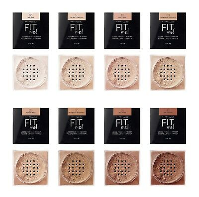 Maybelline Fit Me Loose Finishing Powder choose your shade Made In USA - Usa Loose Powder
