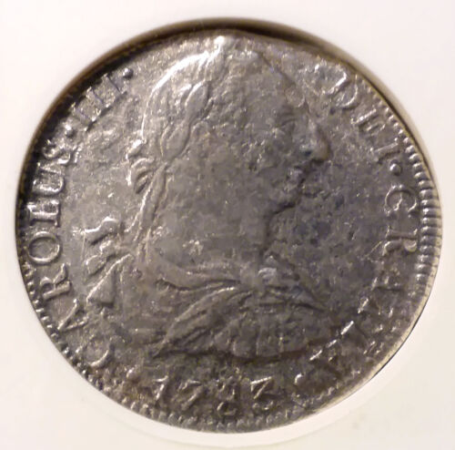 1783 EL CAZADOR Mexico 8 Reales ANACS VF 30 Piece Eight Treasure Coin
