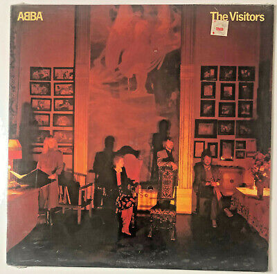 ABBA - The Visitors 1981 LP Atantic SD 19332 Album Record NEW SEALED