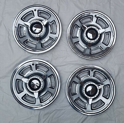 1965 PONTIAC GTO SPINNER HUBCAPS-SET OF 4