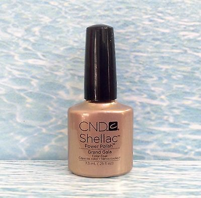 Cnd Shellac Grand Gala Gilded Dreams Uv Led Gel Power Polish  Lasts 14  Days New