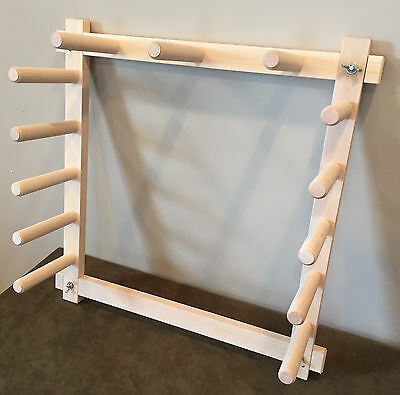 4.5 Yard Hard Maple Warping Board for a Weaving Loom