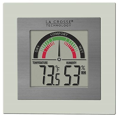 WT-137U La Crosse Technology Indoor Comfort Meter with Temperature & Humidity