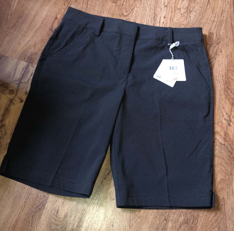 NEW NWT Puma Dry Cell Women's POUNCE Bermuda Golf Shorts SIZE 6 MSRP 65.00