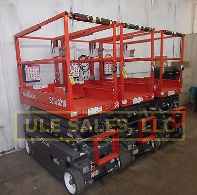 2018 Skyjack Sj3219 Electric Scissor Lift - New - In-stock Door 2 Door Delivery
