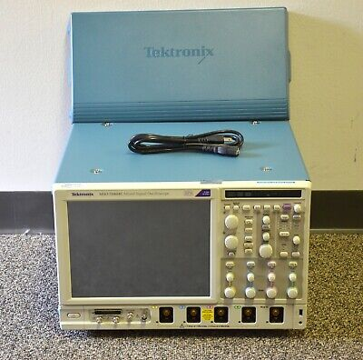 Tektronix Mso70404c 4 Ghz Mixed Signal Oscilloscope 4ghz 25 Gss 16 Channel Dpx