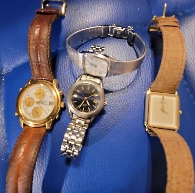 VINTAGE SEIKO LOT! VERY DESIRABLE WSTCHES! ALL WORKING!