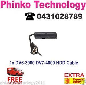 Original HP Pavilion DV6-3000 DV7-4000 DV4-3000 hard drive connector HDD Cable