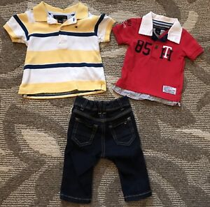 Boys Tommy Hilfiger Outfit 3-6 months