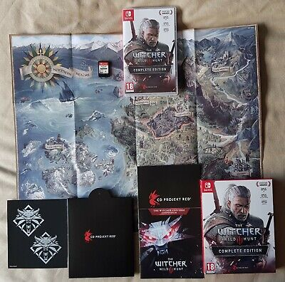 Nintendo Switch game - The Witcher 3 Wild Hunt Complete Edition III