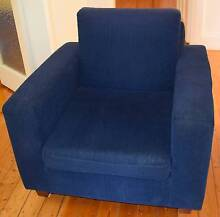 Blue Club Style Armchair FREE Concord West Canada Bay Area Preview