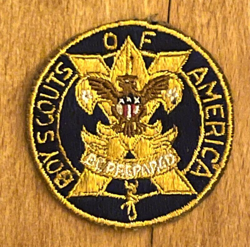 Vintage Boy Scout BSA X 10 Ten  Year Veteran Patch. BSA