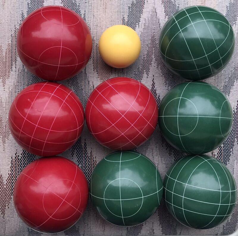 Quality Bocci Balls 8 + 1