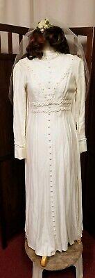 Zombie Wedding Dress Costume (Zombie bride of Frankenstein wedding gown dress Halloween)