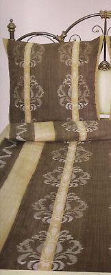 Gebraucht, labanny Microfaser-Bettwäsche, Sommerbettwäsche Normalgröße braun-beige 2-teilig gebraucht kaufen  Erlangen