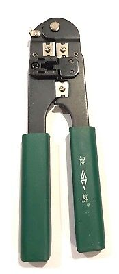 RJ45 Network Cable Crimper Crimping Pliers Cat5 Ethernet LAN Networking Tool for sale  Shipping to India