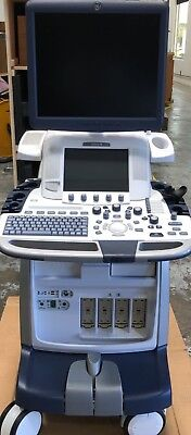 Ge Ultrasound Logiq E9 With Xdclear R5 Refurbished By Ge With 4 Probes
