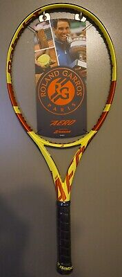 New Babolat Pure Aero Roland Garros Tennis Racquet Nadal Racket 4 3/8 FREE COVER for sale  Shipping to Canada