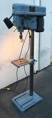 Rockwell Delta 15 Floor Model Drill Press 15-081 Sn80l80368 Usa Walbrecht Chk