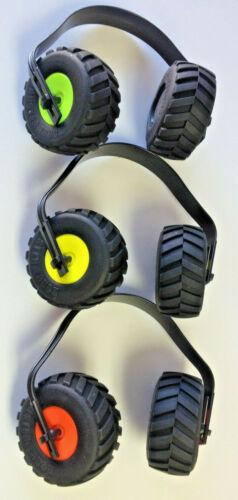 Ear muffs Monster Truck Mini Tire Noise Reducing Kids Adults Monster Jam Style