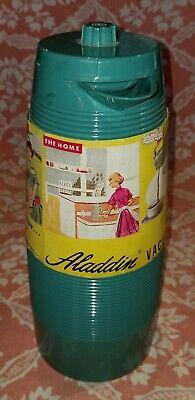 NEW 60s The Aladdin Vacuum Pitcher P4445A Quart ~ Retro hot/cold Thermos