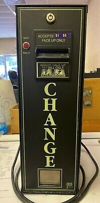 American Changer Ac-300 Accepts 1s 5s