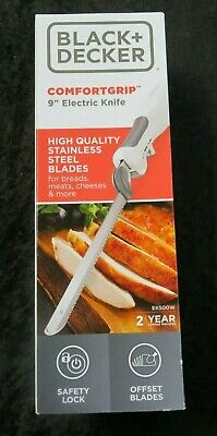 BLACK+DECKER 9-Inch Electric Carving Knife, White, EK500W