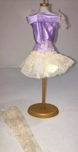 VTG Mattel Doll Clothing Genuine Barbie 80s 90s Fashion 3 Piece Skirt Outfit - $9.99
