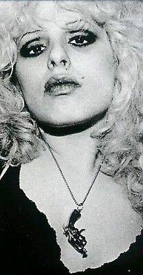 Nancy Spungen Pistol Gun Neckchain Exact copy & v.Rare Sex Pistols Sid Vicious