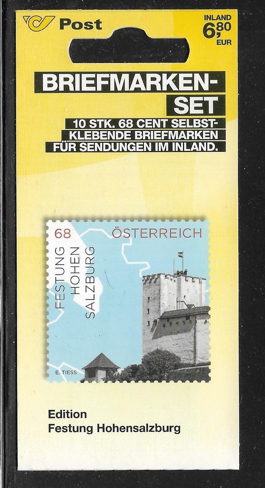 Österreich, Mi 3192, FM Impressionen, MH 0-30 postfrisch MHE-017